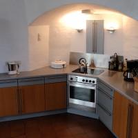 Bestens ausgestattete Küche